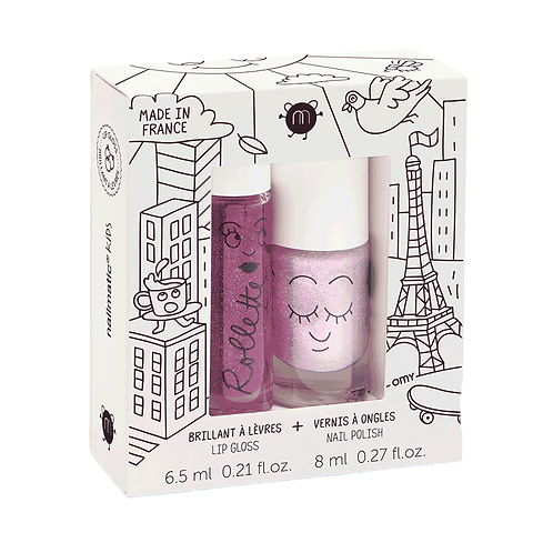 Lovely City - Rollette Nail Polish Duo Set