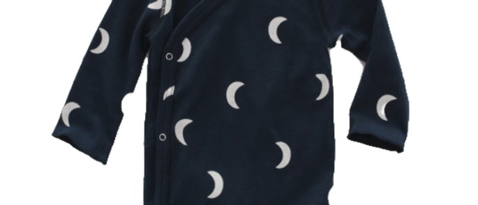 Organic Zoo - Navy Midnight Wrap Bodysuit