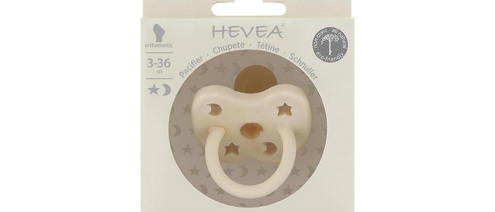 Hevea - Pacifier Milky White Orthodontic