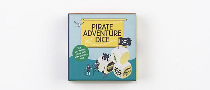 Pirate Adventures Dice