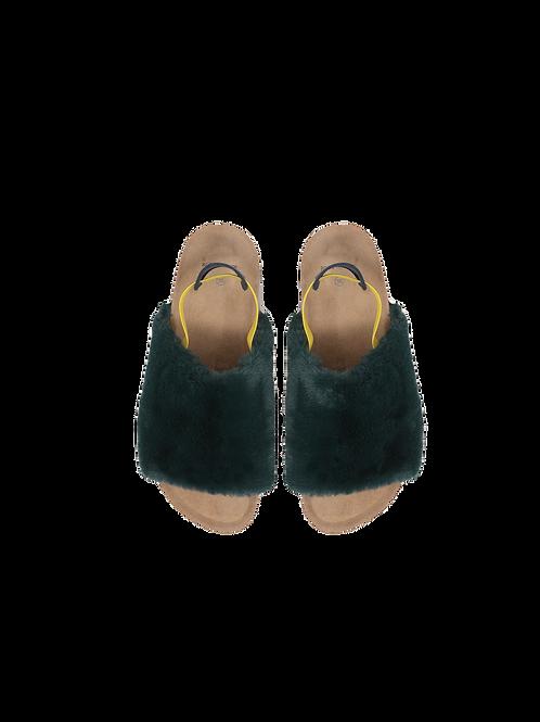 Bobo Choses-B.C Embroidered Sheepskin Sandals (big)