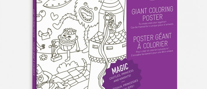 OMY - Coloring Poster MAGIC