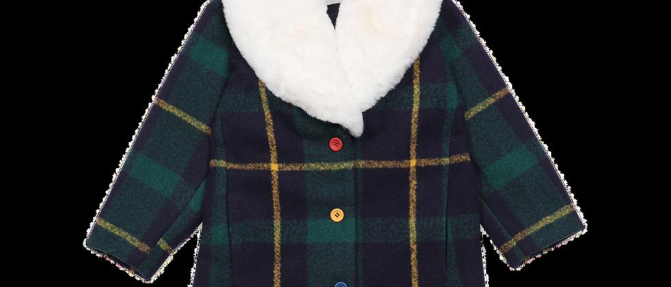 Bobo Choses-Checker Coat