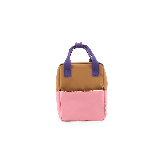 Small Backpack Colourblocking - Panache Gold