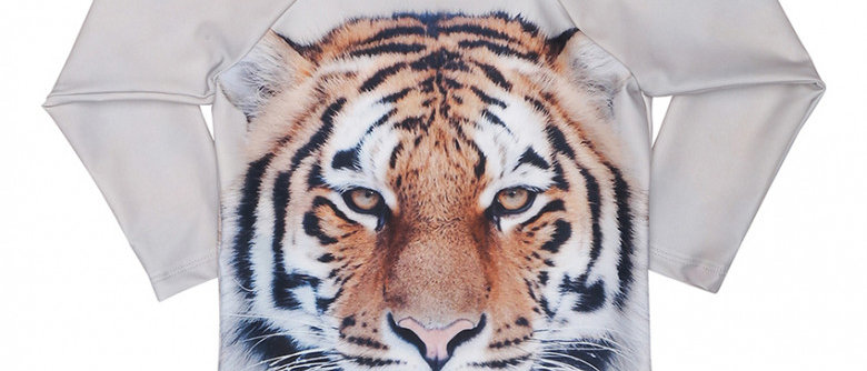 Tiger Swim Blouse