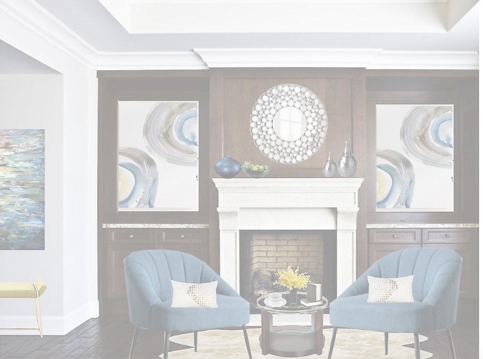 Home Styling - Elegant Living Room