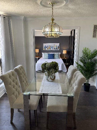 Dining and bedroom