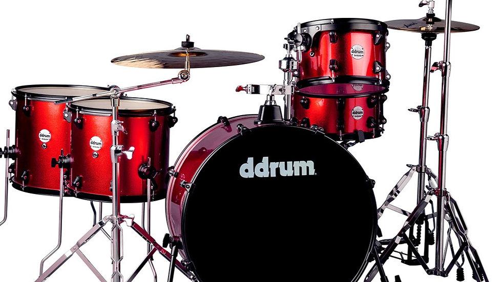 ddrum Journeyman Rambler - Red Sparkle