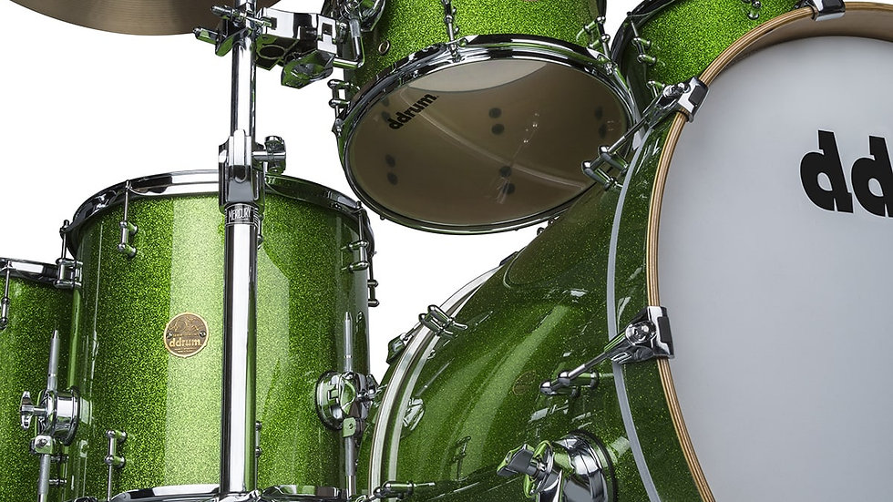 ddrum Dios Emerald Green Sparkle 6pc Shell Pack