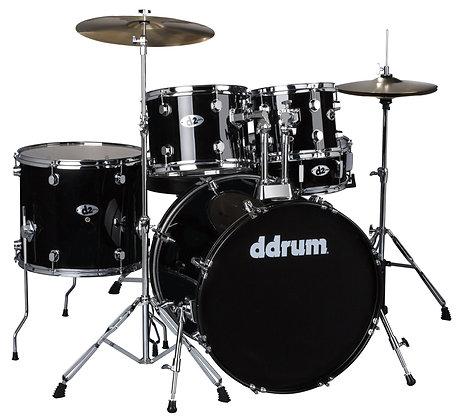 ddrum D2 Drum Set - Midnight Black Complete set