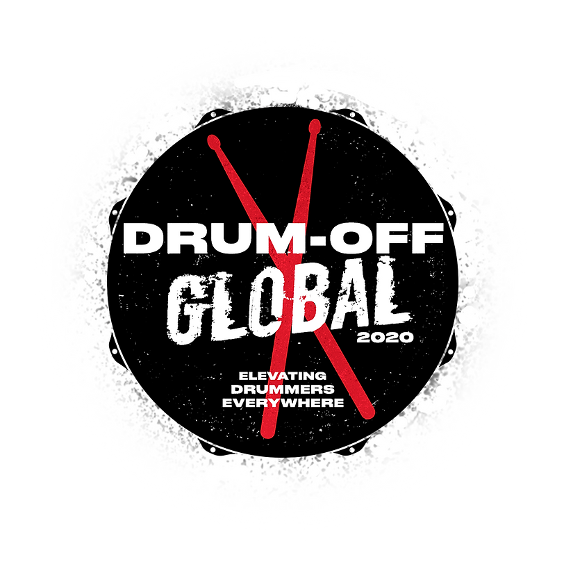 Drum Off Global 2020 (with white shadow