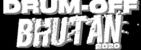 Drum-Off Bhutan 2020 main logo.png