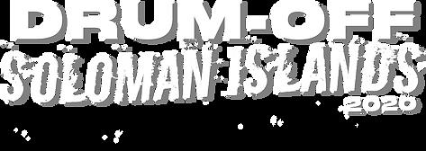 Drum-Off Solomon Islands 2020 main logo.