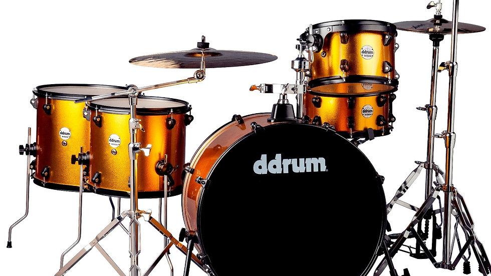 ddrum Journeyman Rambler Drum Set - Blaze Orange