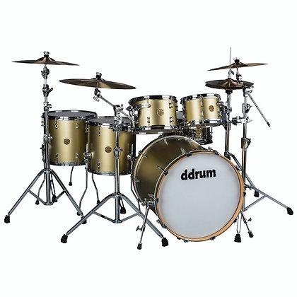 ddrum Satin Gold Dios 7pc Drumkit