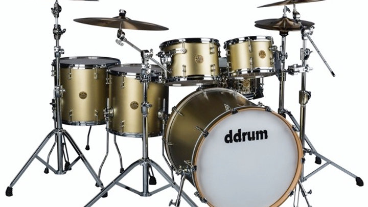 ddrum Dios Satin Gold 7PC Shell Pack