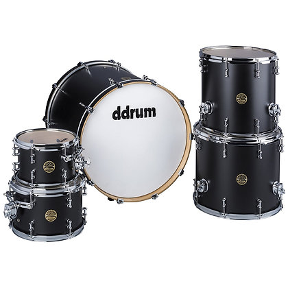 ddrum Dios Satin Black 5PC Shell Pack