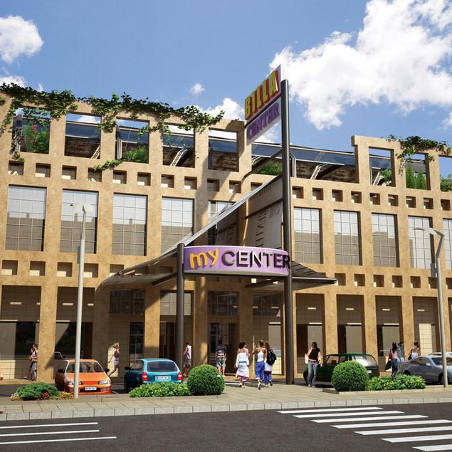 BILLA CENTER, Shopping center
