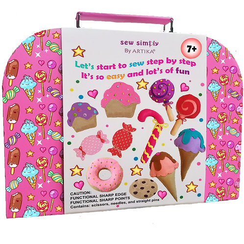 ARTIKA - kids sewing kit - Yum-yummy CAN-028