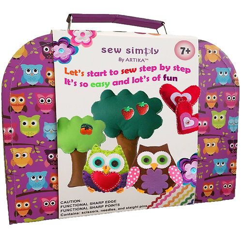 ARTIKA - Kids sewing kit - Owl  OWL-026