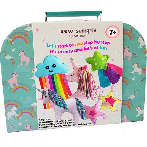 ARTIKA - kids sewing kit - Unicorn  UNI-027