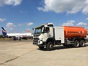Аэродромный топливозаправщик 15000 литров (АТЗ-15) на базе шасси Volvo