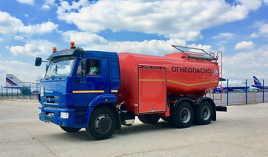 Аэродромный топливозаправщик 15000 литров (АТЗ-15) на базе шасси Камаз