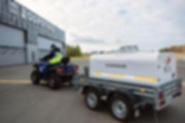 Мобильная Установка Заправки 920 литров (МУЗ-920) на прицепе