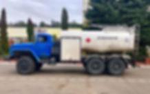 Аэродромный топливозаправщик 10000 литров (АТЗ-10) на базе шасси Урал