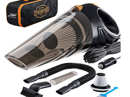 Portable Car Vacuum- $37.99