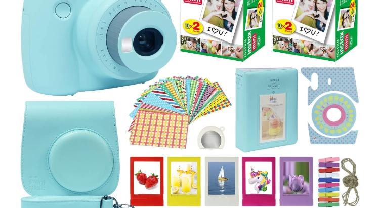 Fuji Instax Polaroid Camera kit- $99.95