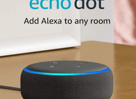 Echo Dot 3rd Gen- $39.99