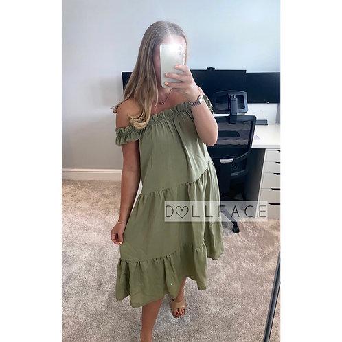 Kady Off Shoulder Dress - 2 Colours