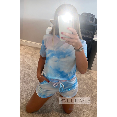Kylie Tie Die Short Set - 3 Colours