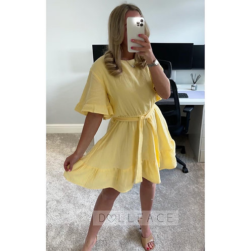 IVY Cheesecloth Dress - 2 Colours