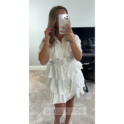ELENA Tiered Dress