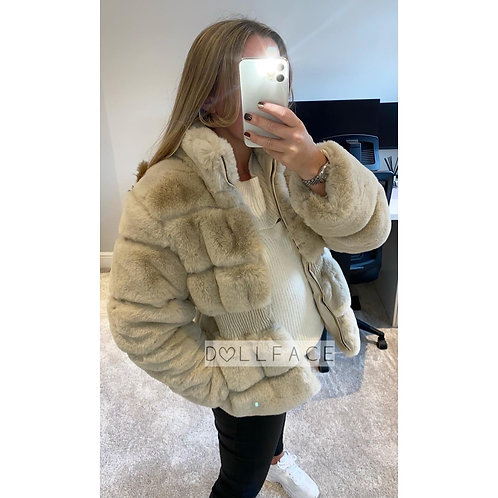 Char Faux Fur Jacket