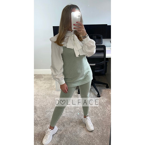 JESS Bow Neck Loungewear - 6 Colours