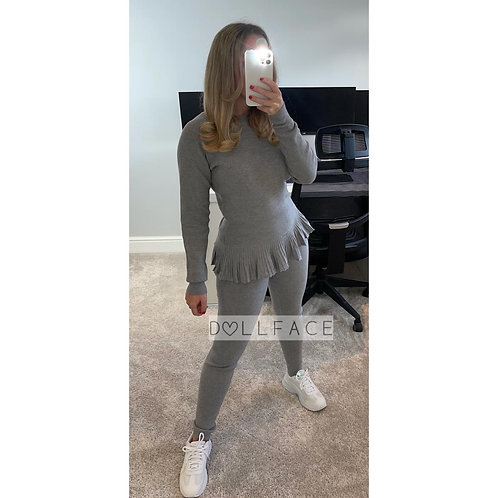 LISA Peplum Loungewear - 4 Colours