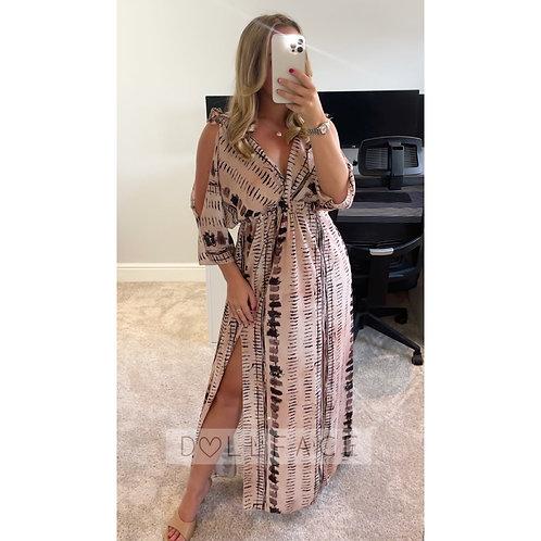 ISLA Printed Dress