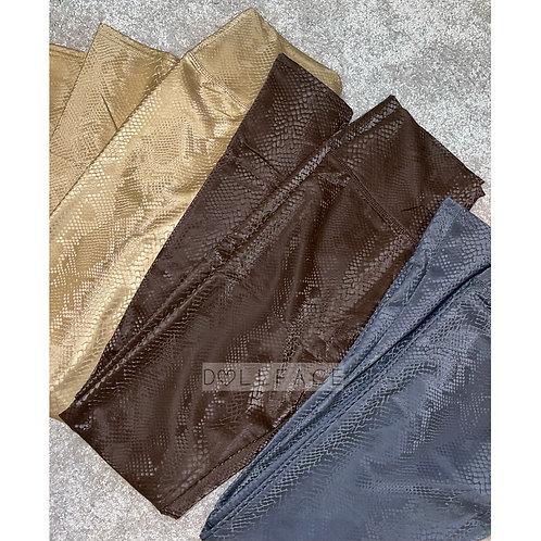 Snakeskin Leggings - 4 Colours