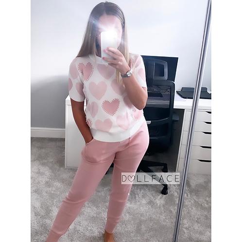 Lovey Pink Loungewear - 2 Colours