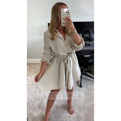 ISABELLA Cheesecloth Dress
