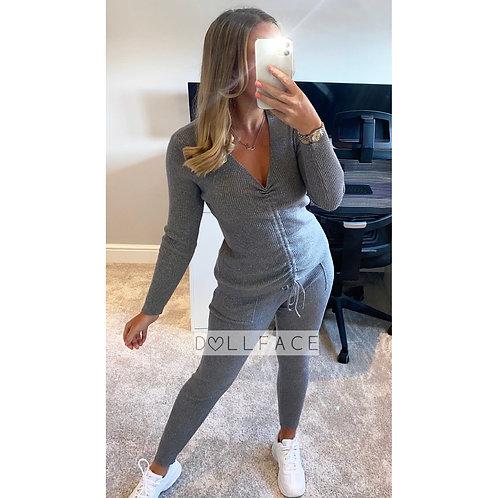 Gianna Glitter Ruched Loungewear