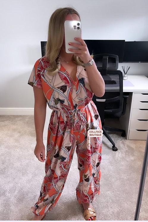 NATALIE Print Jumpsuit - 3 Colours