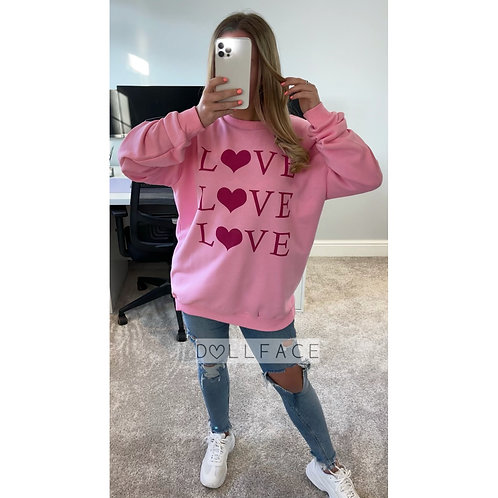 LOVE Sweater - 3 Colours