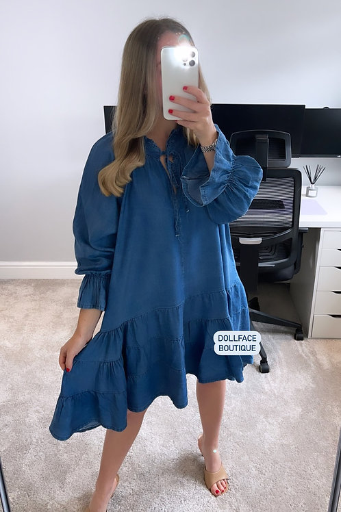 CHARLOTTE Denim Dress