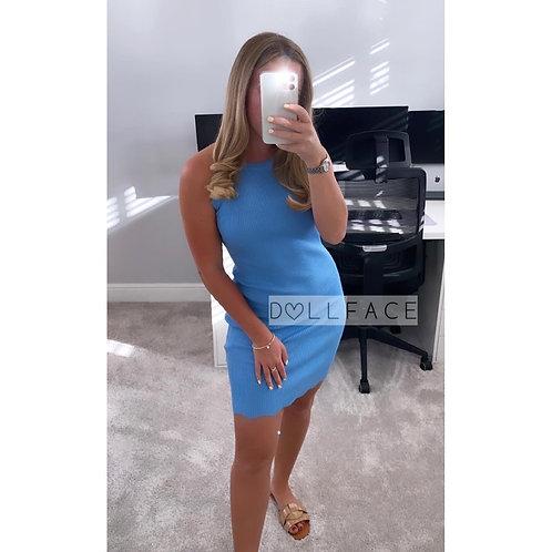 Lisa Baby Blue Dress