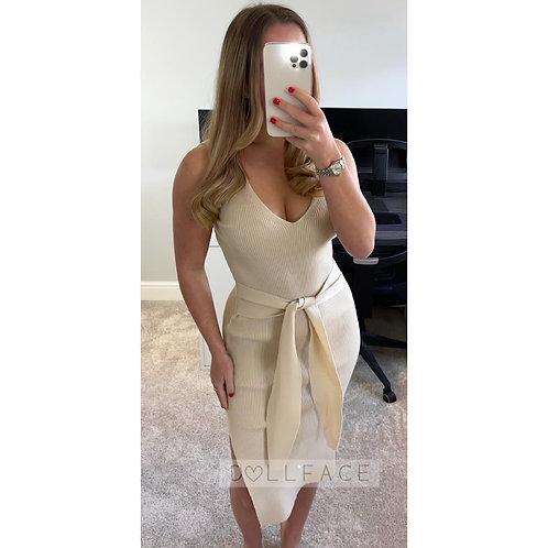 MAYA Knitted Wrap Dress - 9 Colours