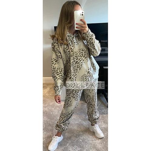 Gabbie Leopard Loungewear - 2 Colours
